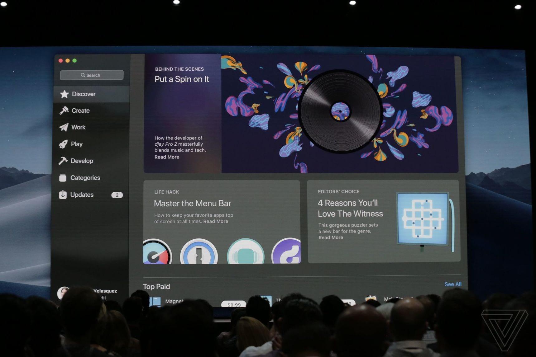 apple WWDC 2018 3755 - macOS Mojave: redizajnovaný App Store, vylepšený Finder, tmavý mód a nové aplikácie