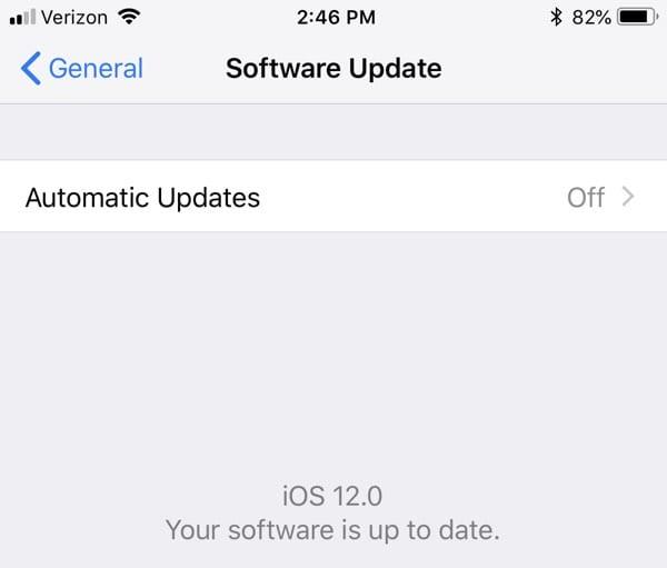 automaticupdatesios12 - 12 zaujímavých iOS 12 funkcií, ktoré Apple nespomenul