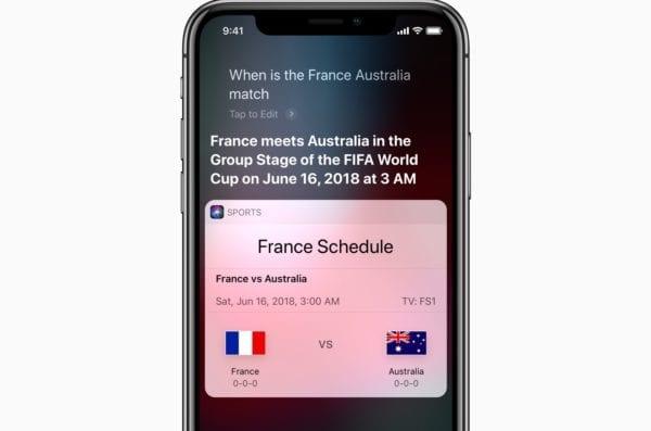 iPhone X Siri World Cup screen 06122018 600x397 - Apple je už pripravený na Majstrovstvá vo futbale