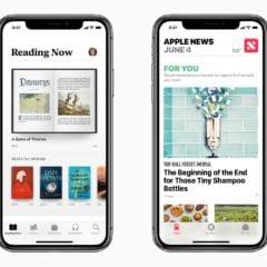 ios 12 books apple news 240x240 - Apple News zvyšujú čítanosť médií. Pripravujú ich však o zárobok