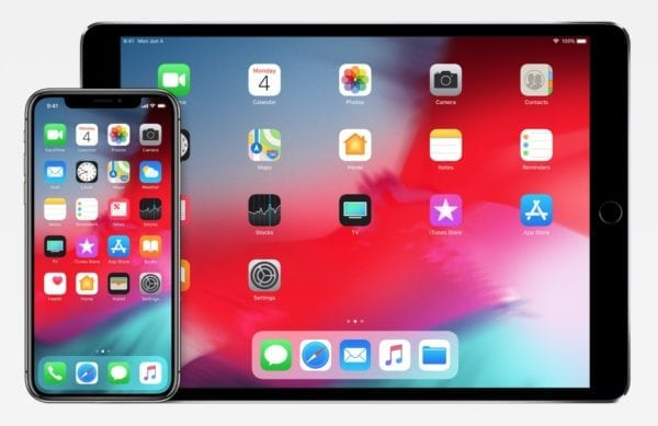 ios 12 iphone ipad devices 600x389 - Apple vydal iOS 12 s vylepšeniami výkonu, Memoji, Siri Shortcuts a ďalšími novinkami