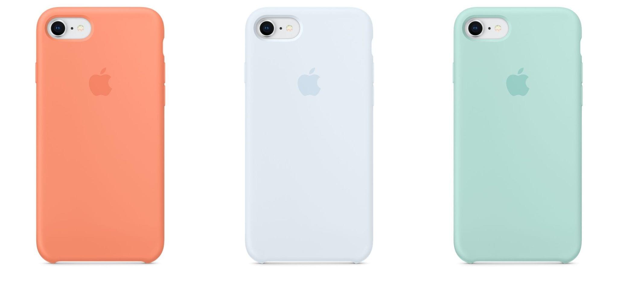 iphone silicone case summer18 - Apple predstavil nové pastelové obaly a náramky, pestré farby pre Beats