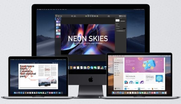 macOS Mojave macbook imac devices 600x346 - Ming-Chi Kuo očakáva nový Mac mini, 45mm Apple Watch a nový MacBook