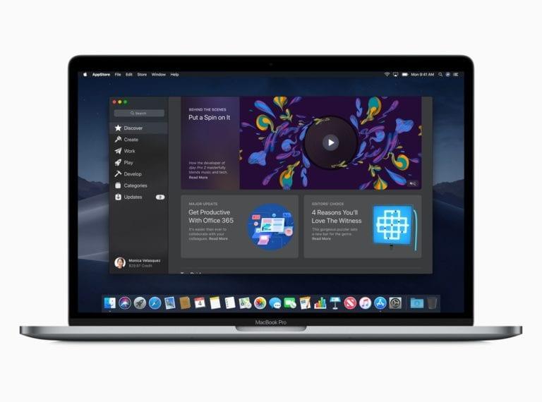 macOS preview Mac App Store Discover screen 06042018 768x570 - WWDC 19: nástroje na portovanie iOS apiek na Mac, možno aj nový Mac Pro