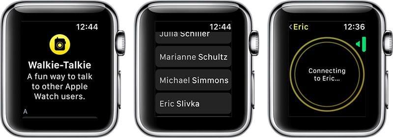 walkietalkieconnection 800x282 - Druhá beta watchOS 5 je vonku, prináša aplikáciu Walkie-Talkie
