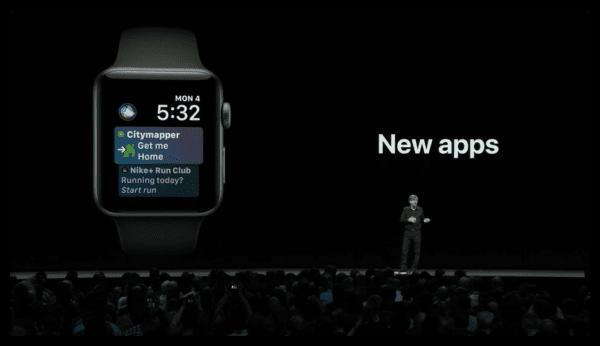 watchOS 5 Siri New apps