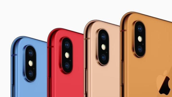 iPhone X New Colors