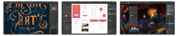 Affinity Designer 600x126 - Zlacnené aplikácie pre iPhone/iPad a Mac #1 týždeň