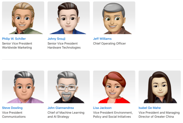 Apple Executive Profiles Memoji-2