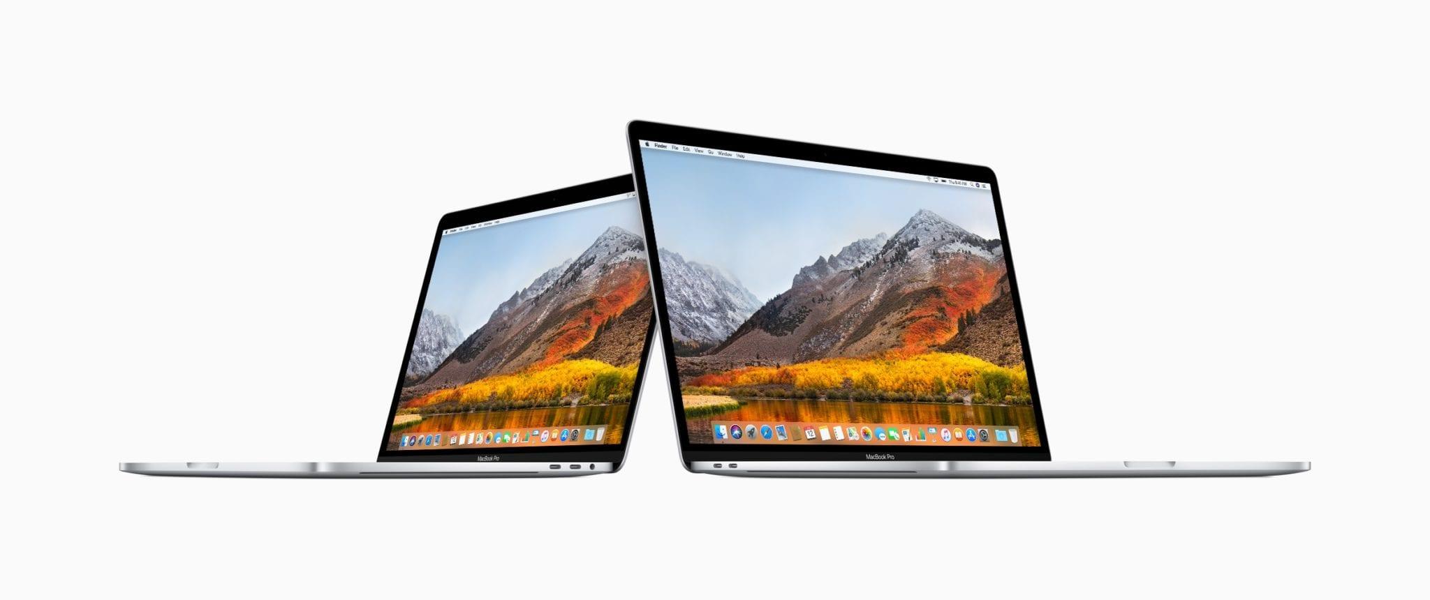 Apple MacBook Pro update 13in 15in 07122018 - Obmedzovanie rýchlosti na novom MacBooku Pro s Core i9 je bug, Apple vydal opravný patch