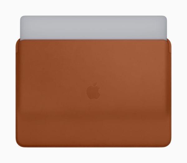 New Apple MacBook Pro Leather Sleeves 07122018 1 600x523 - Dostupné sú nové kožené obaly pre MacBook Pro a MacBook
