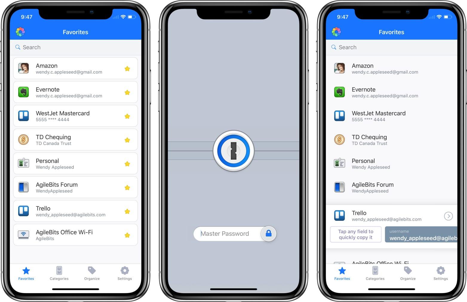 agilebits 1password apple iphone x - Apple ponúkne program 1Password všetkým svojim zamestnancom, hovorilo sa aj o akvizícii