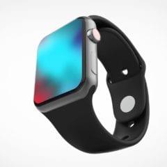 apple watch series 4 concept 240x240 - Ako by mohli vyzerať Apple Watch Series 4 s väčším displejom
