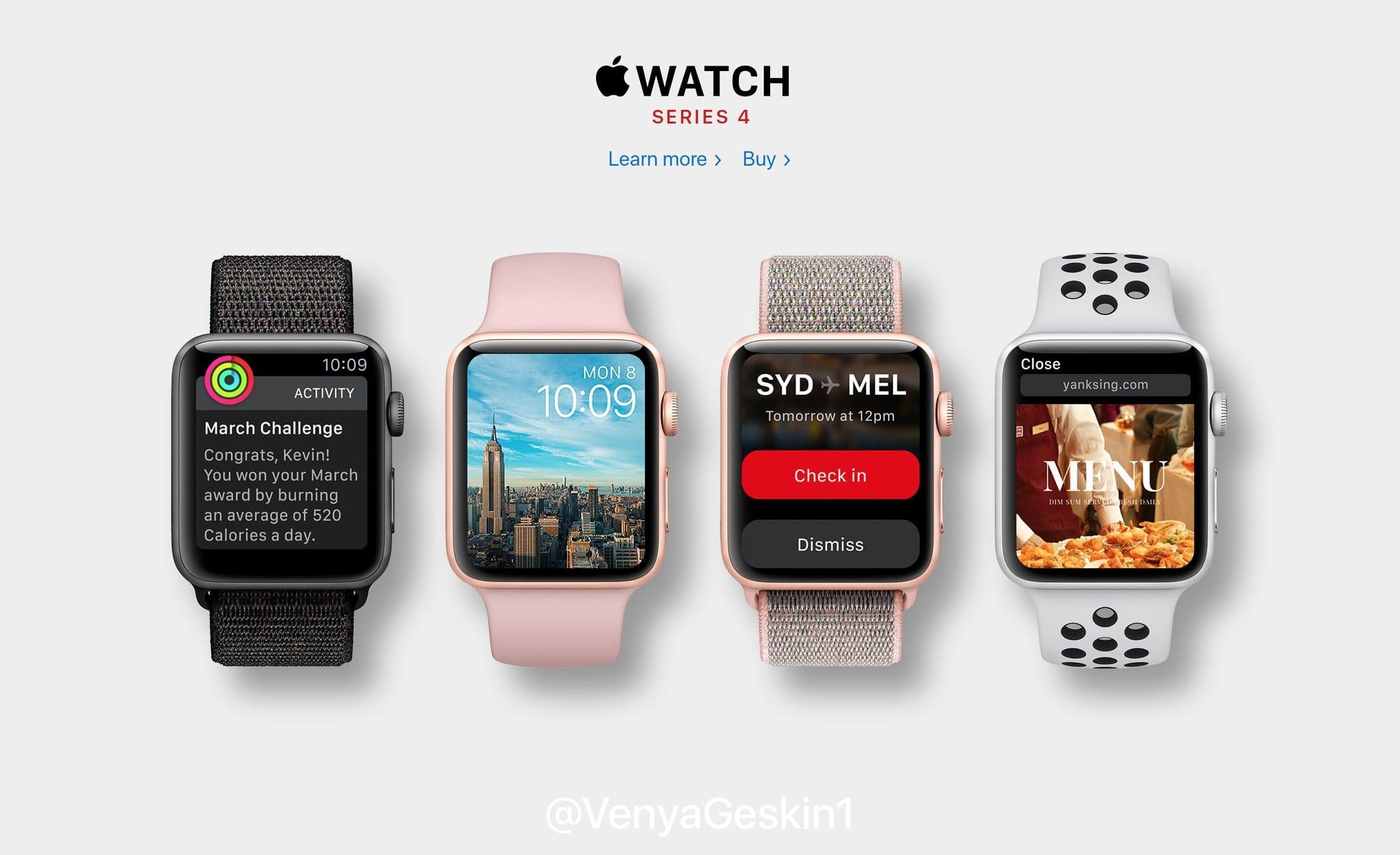 apple watch series4 geskin2 - Ako by mohli vyzerať Apple Watch Series 4 s väčším displejom