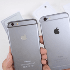 fake iphone 6 logo compare 240x240 - Ako rozpoznať falošný iPhone