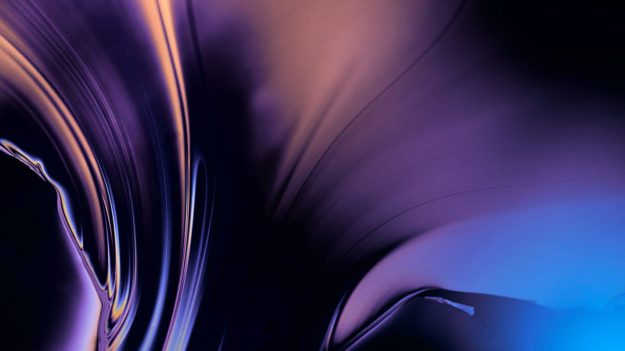 Abstract 1 - Stiahnite si vyše 20 nových pozadí z macOS Mojave