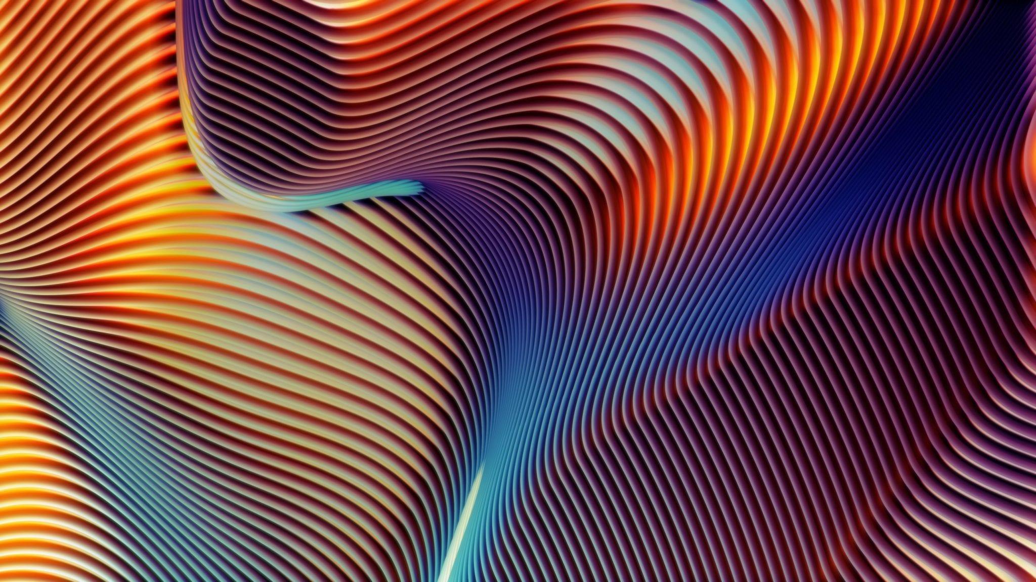 Abstract Shapes 2 - Stiahnite si vyše 20 nových pozadí z macOS Mojave