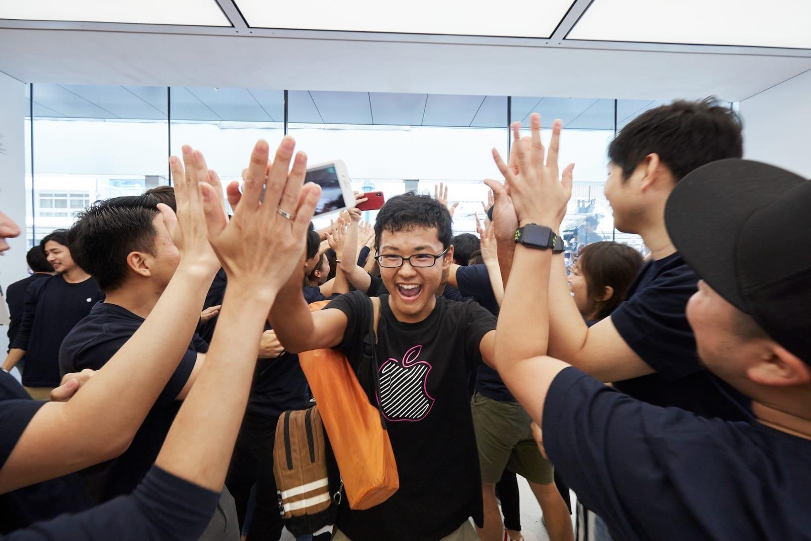 Apple Store Kyoto Shijo opening 08252018 - Galéria: Pozrite si najnovší Apple Store v centre Kjóta