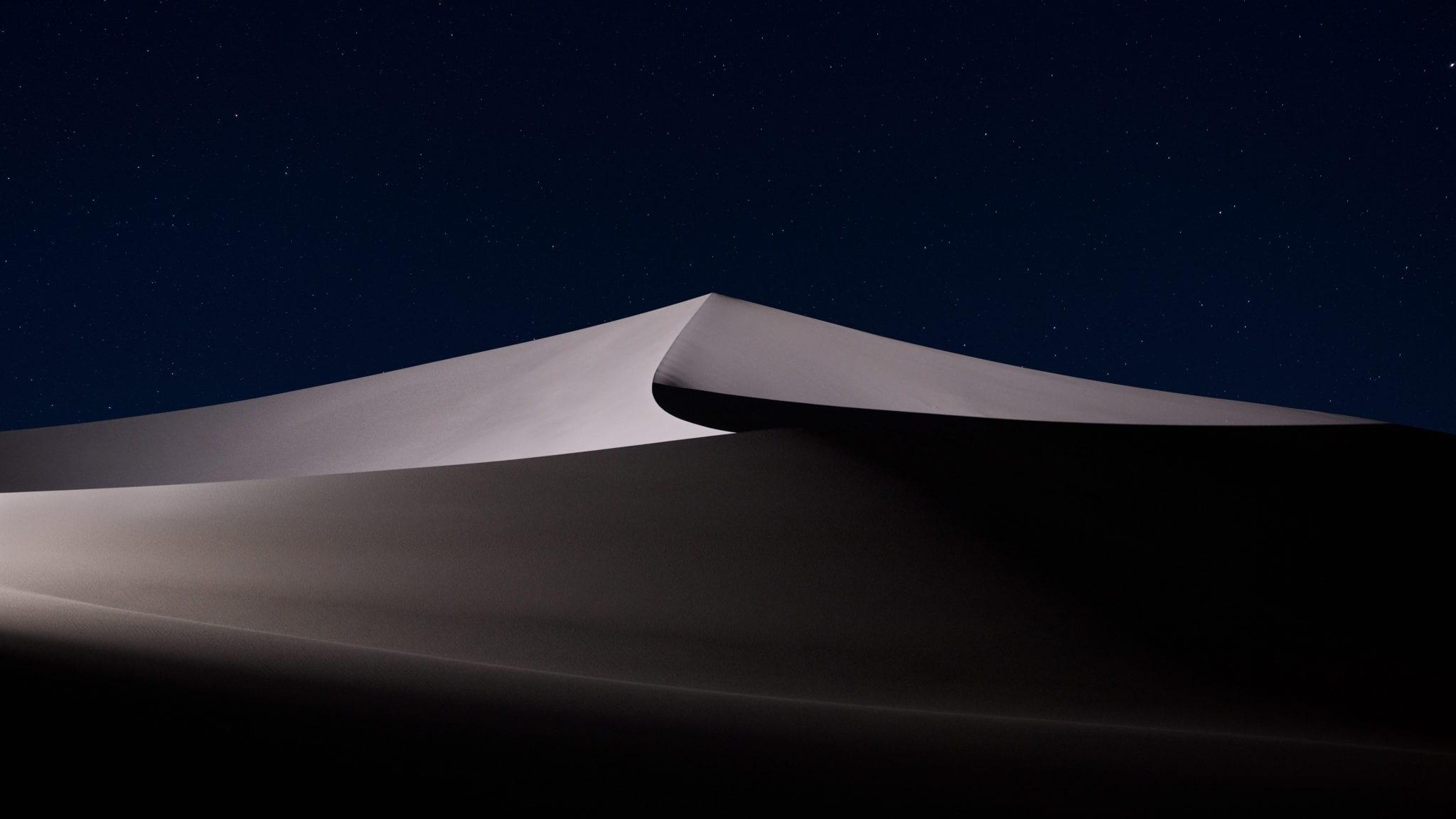 Desert 6 - Stiahnite si vyše 20 nových pozadí z macOS Mojave