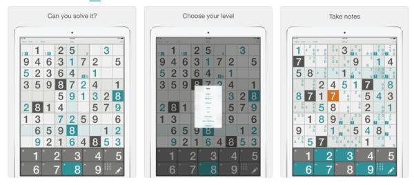 Sudoku 600x268 - Zlacnené aplikácie pre iPhone/iPad a Mac #31 týždeň