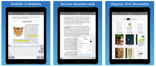 TextEdit 600x261 - Zlacnené aplikácie pre iPhone/iPad a Mac #33 týždeň