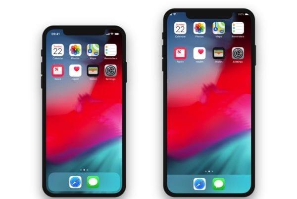 XS Plus Home iPhone 600x403 - iPhone X Plus dostane Landscape mód po vzore iPadu