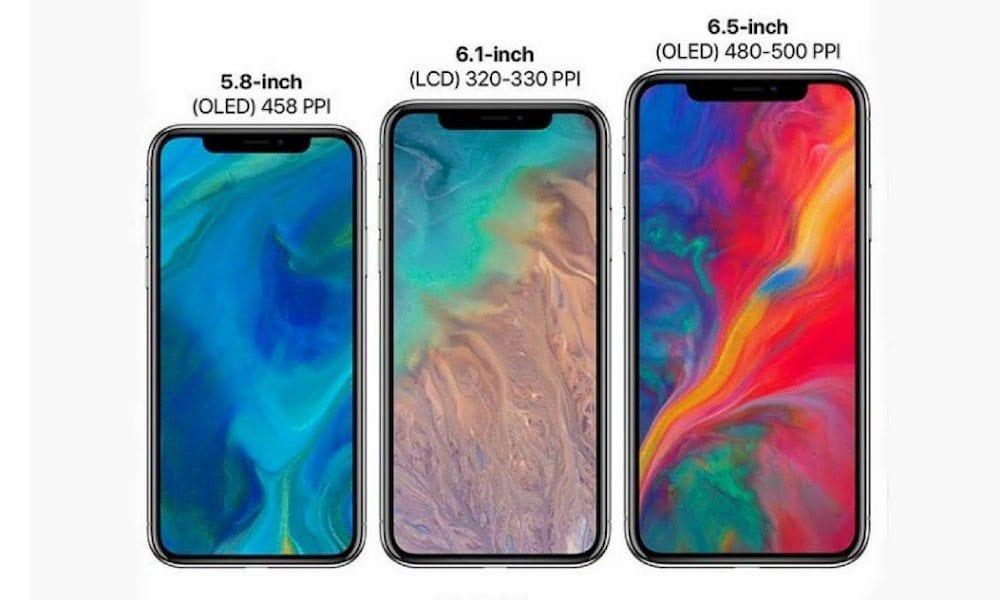 iphone xs oled lcd - Kuo zverejnil špecifikácie tohtoročného iPhonu, podpora pre Pencil nebude