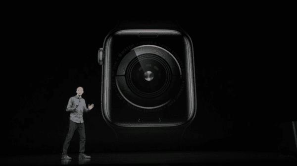 Apple Watch Series 4 Rear Sensor