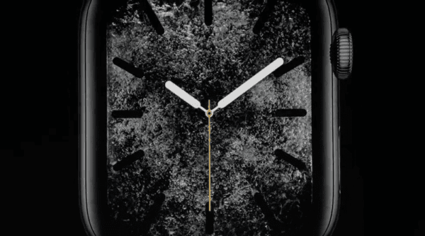 Apple Watch Series 4 Water Watchface