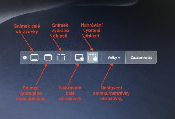 Snímky obrazovky macOS Mojave 600x408 - Jak používat nové screenshot menu a nahrávaní obrazovky v macOS Mojave?