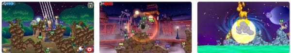 Worms 600x110 - Zlacnené aplikácie pre iPhone/iPad a Mac #15 týždeň