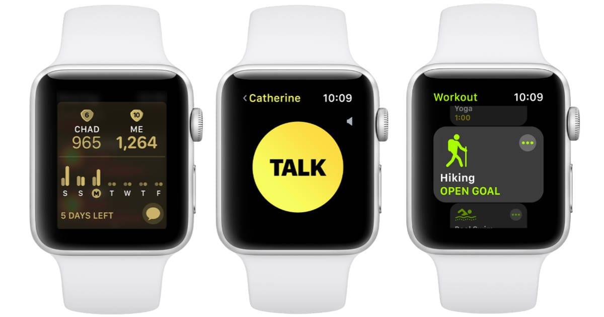 apple watch watchos 5 - watchOS 5 prináša Walkie-Talkie, Podcasty, nové ciferníky a ďalšie novinky