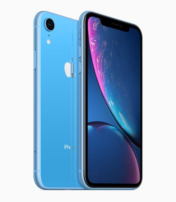 iPhone XR blue back 09122018 600x687 - Kuo: Predobjednávky Apple Watch Series 4 prekonávajú očakávania, to sa ale nedá povedať o iPhone XS
