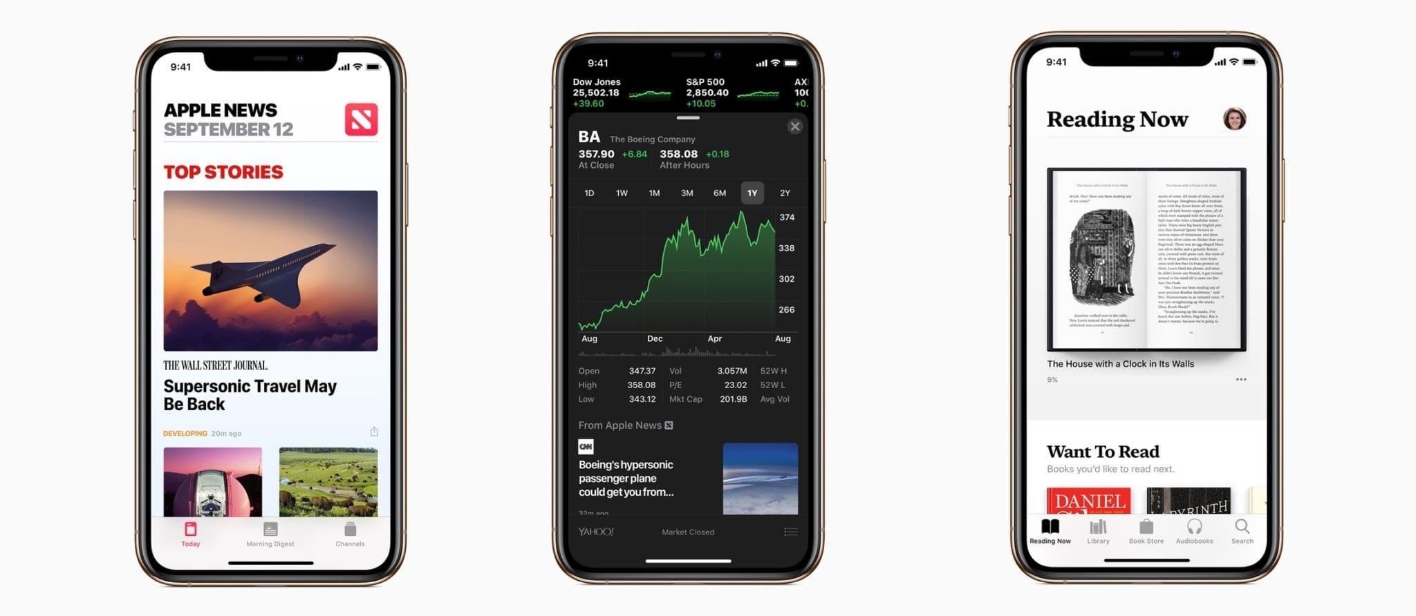 ios 12 new apps - Apple vydal iOS 12 s vylepšeniami výkonu, Memoji, Siri Shortcuts a ďalšími novinkami