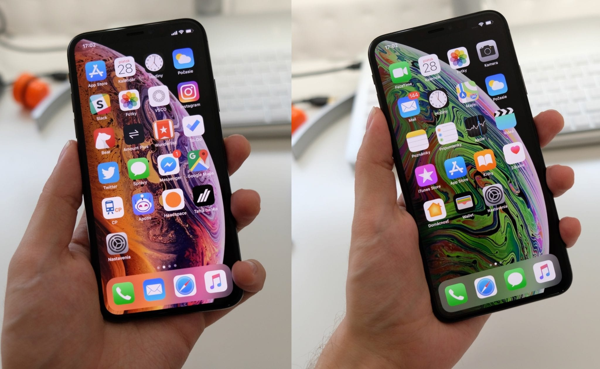iphone xs xsmax porovnanie - Prvé dojmy: iPhone XS a iPhone XS Max