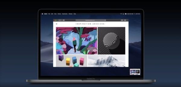 macOS Mojave screenshots thumbnail 002 600x288 - Jak používat nové screenshot menu a nahrávaní obrazovky v macOS Mojave?