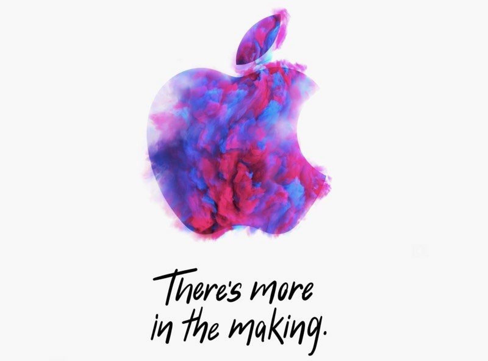 Apple Media Event Invite October 2018