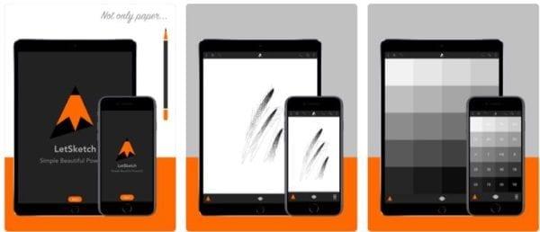 LetSketch  600x258 - Zlacnené aplikácie pre iPhone/iPad a Mac #43 týždeň