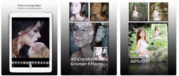 PhotoJus Grunge FX Pro 600x255 - Zlacnené aplikácie pre iPhone/iPad a Mac #40 týždeň