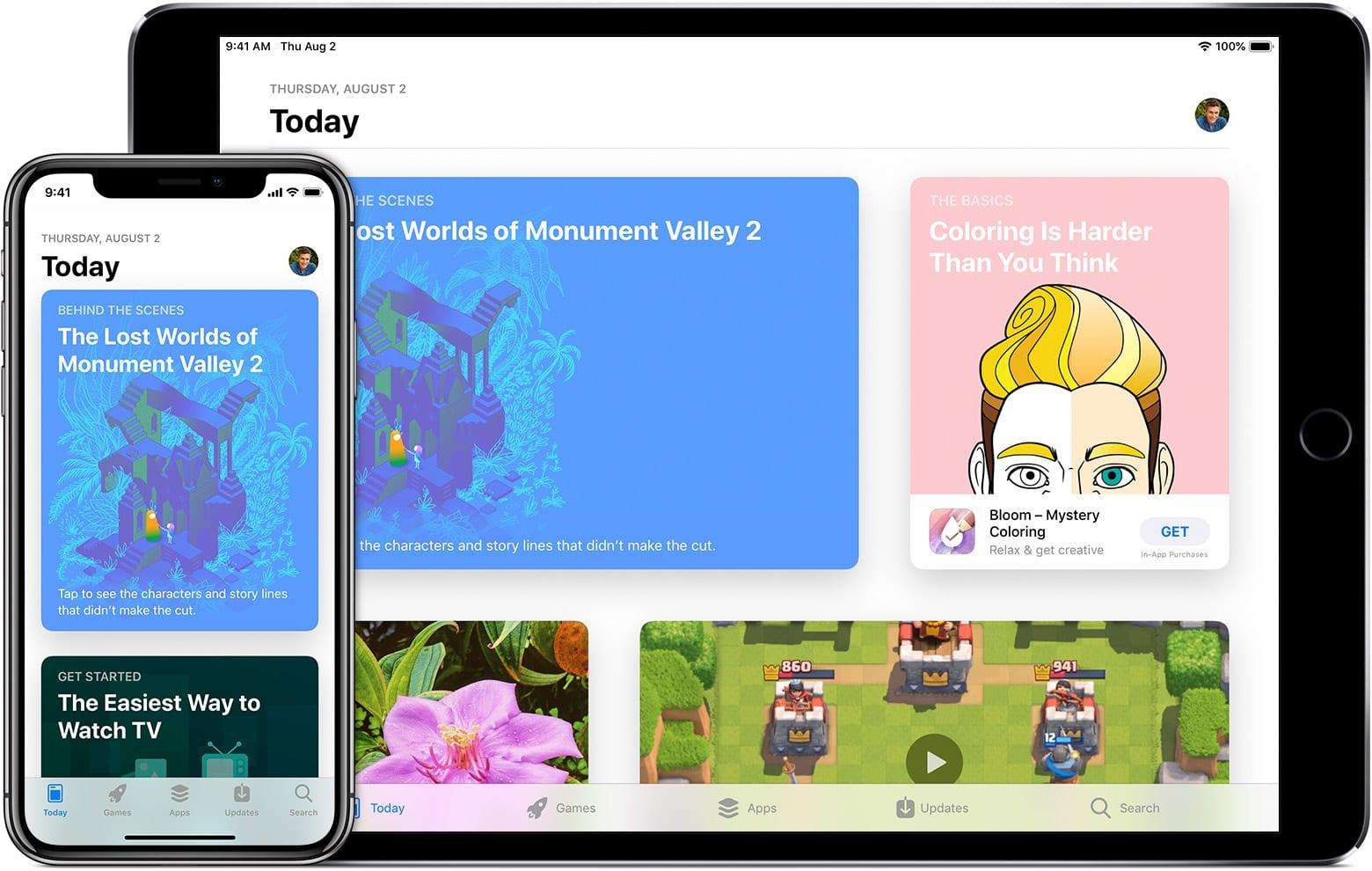 ios12 iphone x ipad pro app store today - App Store trápia podvodníci s predplatným