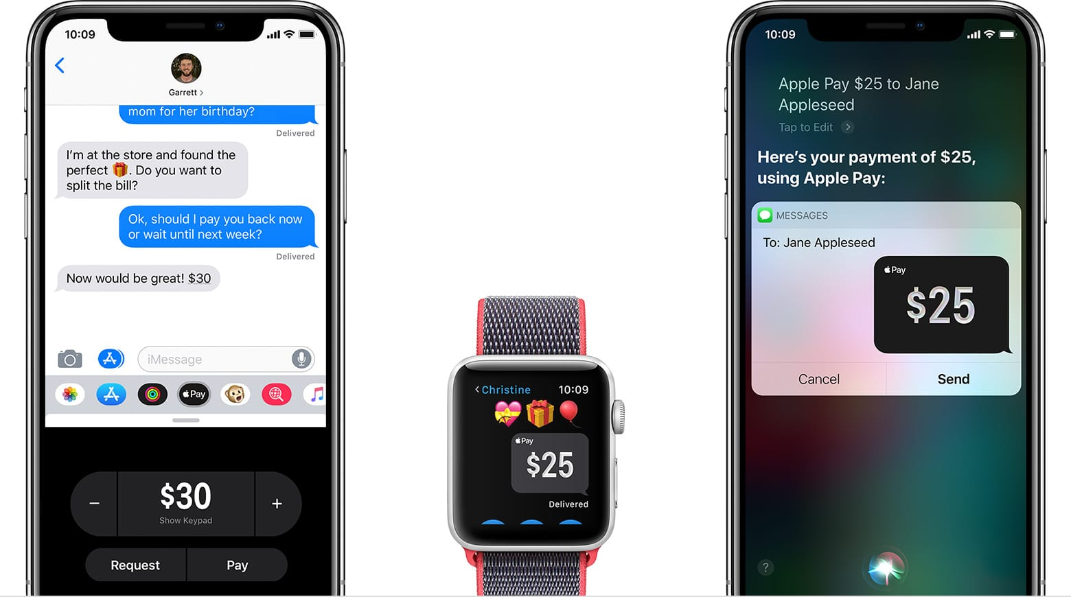 ios12 watchos5 iphone x watch applepay hero - Apple Pay Cash už čoskoro v Európe?