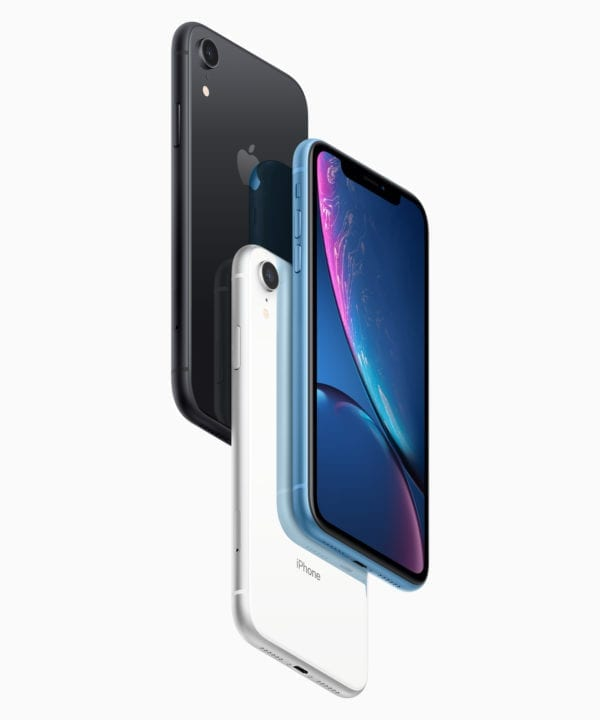iphonexr pre order black white blue 10172018 600x720 - iPhone Xr zlacnel v Japonsku o takmer 100€