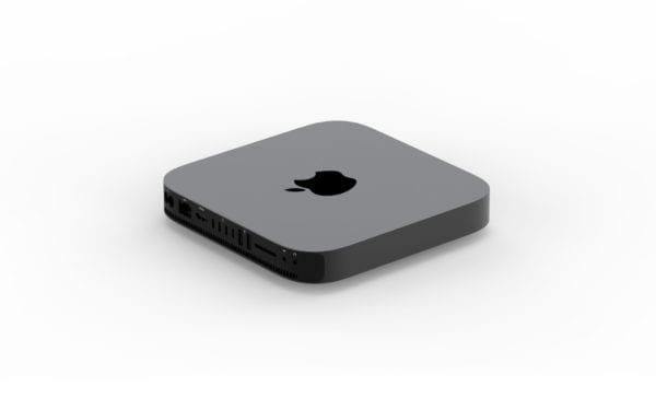 mac mini concept 2018 4 600x375 - Ako by mohol vyzerať nový Mac mini v Space Gray prevedení