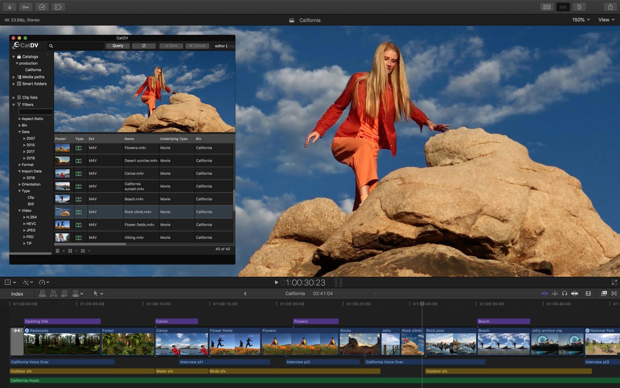 Final Cut Pro X workflow extensions CatDV 11152018 - Final Cut Pro X prináša podporu pre rozšírenia tretích strán