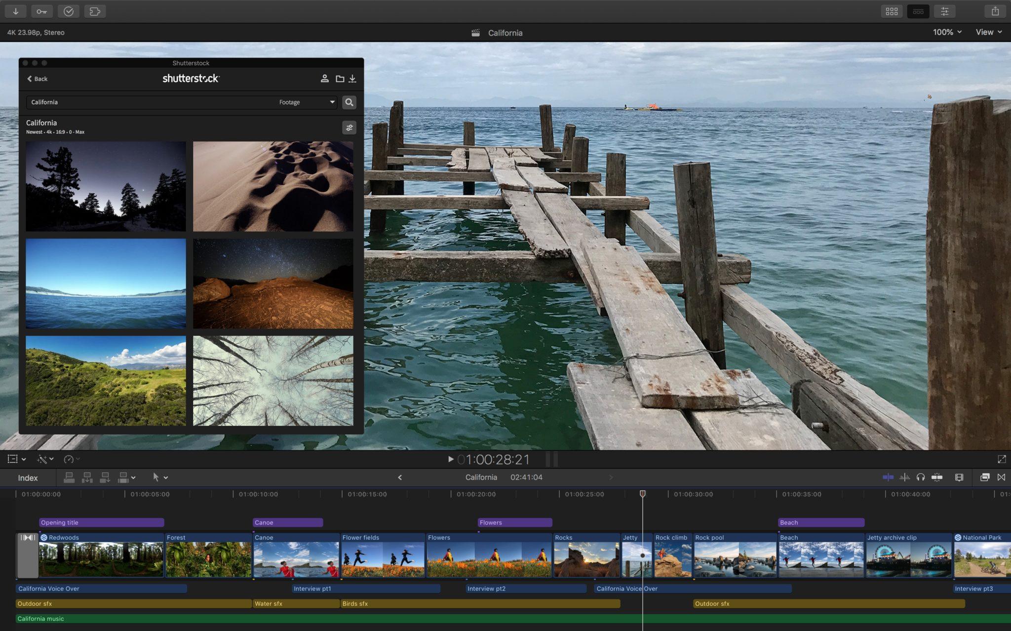 Final Cut Pro X workflow extensions shutterstock 11152018 - Final Cut Pro X prináša podporu pre rozšírenia tretích strán