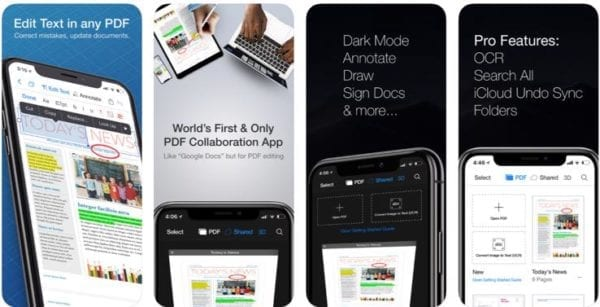 PDF Office Edit Text Reader 600x307 - Zlacnené aplikácie pre iPhone/iPad a Mac #44 týždeň