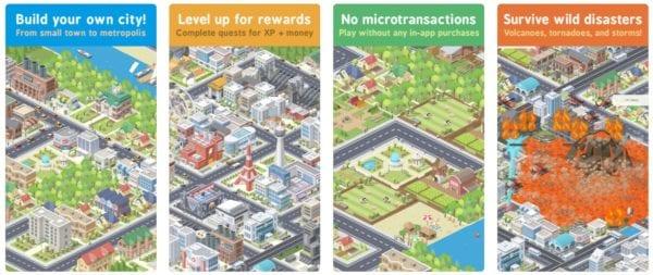 Pocket City 600x253 - Zlacnené aplikácie pre iPhone/iPad a Mac #47 týždeň