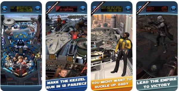 Star Wars Pinball 7 600x306 - Zlacnené aplikácie pre iPhone/iPad a Mac #47 týždeň