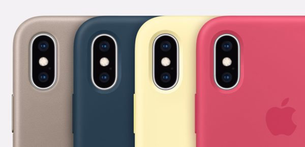 apple store cases iphone xs 600x291 - Apple vydal obaly pre iPhone a remienky v nových farbách
