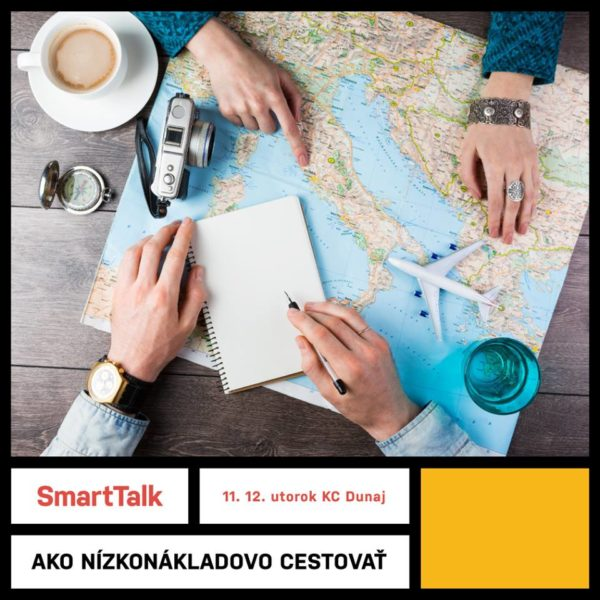 ST 11.12 FB 600x600 - V šetrení nákladov sa kreativite medze nekladú. V KC Dunaj sa bude diskutovať o tom, ako nízkonákladovo cestovať.